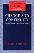 Change and Continuity Statute, Equity, and Federalism