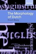 Morphology of Dutch