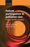 Patient Participation in Palliative Care A Voice for the Voiceless