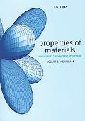 Properties Of Materials Anisotropy, Symmetry, Structure