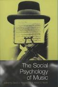 Social Psychology of Music Edited by David J. Hargreaves and Adrian C. North