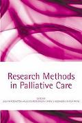 Research Methods in Palliative Care