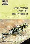 Observing Animal Behaviour