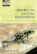 Observing Animal Behaviour