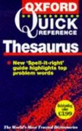 Oxford Quick Reference Thesaurus