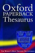 Oxford Thesaurus - Maurice Waite - Paperback