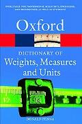 Dictionary of Weights, Measures, and Units