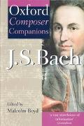 Oxford Composer Companion J.S. Bach