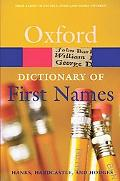 Dictionary of First Names