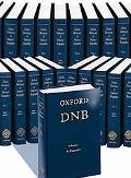 Oxford Dictionary of National Biography plus index