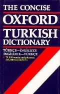 Concise Oxford Turkish Dictionary