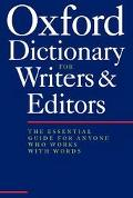 Oxford Dictionary for Writers and Editors