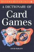 Dictionary of Card Games