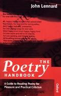 Poetry Handbook: A Guide to Reading Poetry for Pleasure and Practical Criticism
