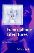 Francophone Literatures An Introductory Survey