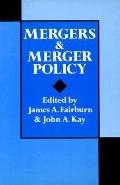 Mergers+merger Policy