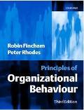 Principles of Organizational Behaviour