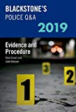 Blackstone's Police Q&A 2019 Volume 2: Evidence and Procedure