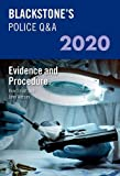 Blackstone's Police Q&A 2020 Volume 2: Evidence and Procedure