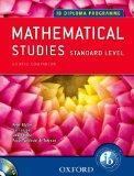 IB Course Companion: Mathematical Studies: 2nd edition (International Baccalaureate)