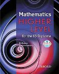 IB Higher Mathematics for the Diploma Programme