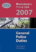 Blackstone's Police Q&a General Police Duties 2007