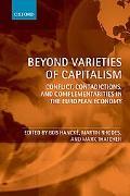 Beyond Varieties of Capitalism Conflict, Contradictions, and Complementarities in the Europe...