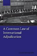 Common Law of International Adjudication