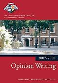 Opinion Writing 2007-2008