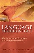 Language Turned on Itself