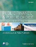 Public Finance and Public Choice: Analytical Perspectives