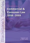 Blackstone's Statutes on Commercial and Consumer Law 2008-2009