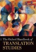 Oxford Handbook of Translation Studies