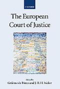 European Court of Justice - Grainne De Burca - Paperback