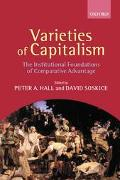 Varieties of Capitalism The Institutional Foundations of Comparative Advantage
