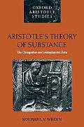 Aristotle's Theory of Substance The Categories and Metaphysics Zeta