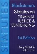 Statutes on Criminal Justice and Sentencing