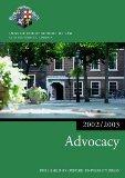 Advocacy 2002/2003 (Blackstone Bar Manual)