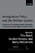Immigration Policy and the Welfare State: A Report for the Fondazione Rodolfo Debenedetti