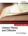 Literary Theory And Criticism An Oxford Guide