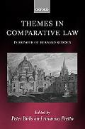 Themes in Comparative Law In Honour of Bernard Rudden
