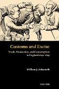 Customs and Excise Trade, Production, and Consumption in England 1640-1845