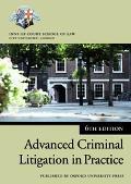 Advanced Criminal Litigation in Practice