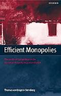 Efficient Monopolies The Limits of Competition in the European Property Insurance Market