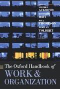 Oxford Handbook of Work and Organization