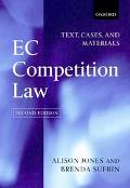 EC Competition Law Text, Cases, and Materials