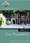 Bar Manual Case Preparation, 2004-2005