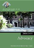 Bar Manual Advocacy, 2004-2005