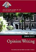 Bar Manual Opinion Writing, 2004-2005