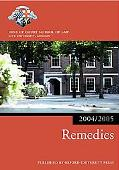 Bar Manual Remedies, 2004-2005